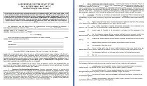 Home Remodeling Contract Renovation Contract Contract Agreements Formats Examples 1