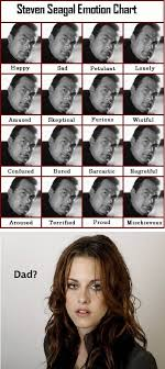 Steven Seagal Emotion Chart Funny Steven Seagal Funny