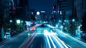 light, city lights, tokyo, japan 4k uhd ...