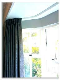 ceiling curtain track. Delighful Ceiling Ceiling Curtains Good Track Mounted  Designer Tips For Spaces With Low Ceilings Intended Ceiling Curtain Track I