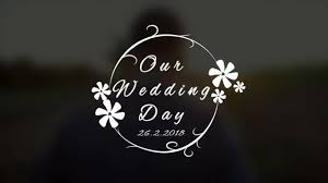 Wedding Title Template Wedding Title V4 After Effects Templates Motion Array