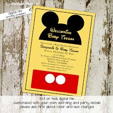 mickey mouse printable baby shower invitation ideas baby shower blank mickey mouse baby shower invitations