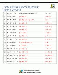 full size of worksheet solving quadratic equations by factoring worksheet answers idea of quadratic formula large size of worksheet solving quadratic