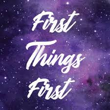 Image result for first things first christian clipart