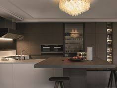 kitchen island integrated handles arthena varenna: download the catalogue and request prices of trail by varenna by poliform lacquered kitchen with integrated handles with peninsula design carlo colombo