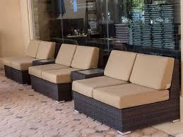 brown set patio source outdoor. Source Outdoor Furniture Lucaya Wicker Lounge Set Brown Patio