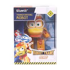 <b>Robot Trains</b> 80181 <b>Трансформер Джинни</b>, 10см, Silverlit ...