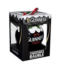 Guinness Christmas Tree Decoration - Pint Bauble