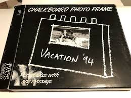 black chalkboard write on picture photo frame teacher kid gift school class new