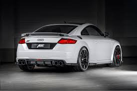 Audi TT RS-R Steps Closer To Supercar Territory With ABT's Special ...