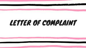 How To Write A Letter Of Complaint Csec English Made Easy