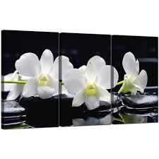 display gallery item 5 3 part floral canvas pictures orchids 3051 display gallery item 6 3 panel flower canvas prints  on orchid canvas wall art with orchids canvas prints set of three for your dining room