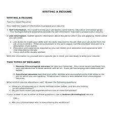 Write Resume Objective Emelcotest Com