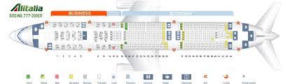 Alitalia Flight Seating Chart Alitalia Fleet Boeing 777 200er Details And Pictures
