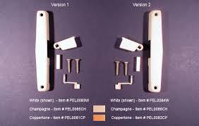 pella screen door handles lock hardware return springs