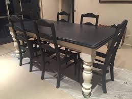 black painted furniture ideas. Painted Dining Room Furniture Best 25 Paint Tables Ideas On Pinterest Table 3 Black D