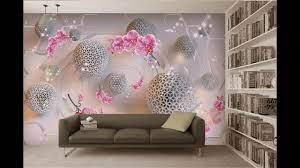 50 Stylish 3D wallpaper for living ...