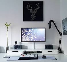 stylish home office computer room. 20 DIY Desks That Really Work For Your Home Office Tags: Computer Desk Ideas Stylish Room H