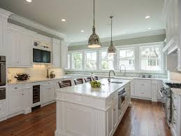 Grey Kitchen Colors With White Cabinets Green White Wall Paint On
