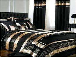 gold black white bedding black white and gold comforter set and curtain black white gold crib