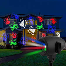 Laser Light Projector Startastic Motion Holiday Laser Light Projector