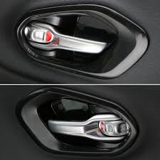 inside car door handle. Black Car Interior Handle Handles Bowl Inside Cover Trim Sticker Fit For Jeep Cherokee 14 15 16-in Exterior Door From Automobiles \u0026 Motorcycles On O