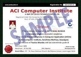 Computer Certificate Format Computer Course Certificate Templates Psd Inspirationa Puter 14