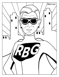 Small Picture Celebrate the Notorious RBGs Birthday with This Printable
