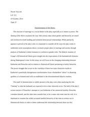 analysis of taming of the shrew and things i hate about you  4 pages taming of the shrew essay