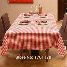 european high grade plaid tablecloth round coffee table