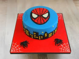 Spiderman Cake Spiderman Theme Birthday Cake Spiderman Photo