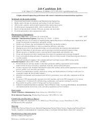 industrial s engineer resume