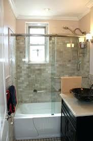 corner garden tub shower combo and ideas
