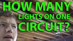How Many T8 Lights On A 15 Amp Circuit How Many Lights On A 15a Circuit Breaker Calculate Wattage For 15 Amp Circuit Number Of Fixtures