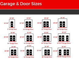 tremendous sizes of doors doors garage sizes understanding sizes of double garage doors sc