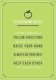classroom rules template apple green classroom rules school poster templates by canva