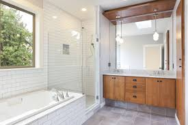 Part Tiled Bathrooms How To Choose Tile For A Small Bathroom
