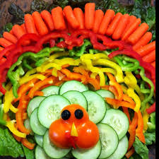 Decorative Relish Tray For Thanksgiving thanksgiving veggie tray Turkey vegetable tray Big success at 63
