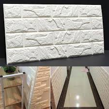 pe foam 3d diy stone brick wall stickers home decor poster wallpaper for living room kitchen self adhesive art mural 60x30cm decal wall decor decal wall