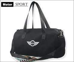 Black Canvas Shoulder Bag Ebay Mini Cooper Mini Cooper Accessories Bags