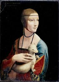lady with an ermine leonardo da vinci 50 most influential and famous paintings of all time
