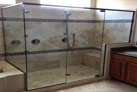 custom corner shower ideas plain door projects idea glass doors phoenix voted 1 in showers