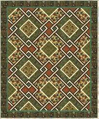 Free pattern day: St. Patrick's Day | Quilt Inspiration | Bloglovin' & Celtic Squares quilt, 47 x 47