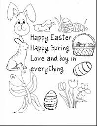 Preschool Easter Coloring Pages Printable Printable Coloring Page