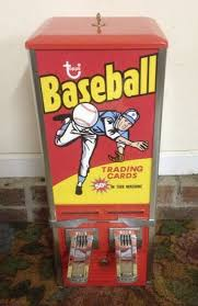 Sports Card Vending Machine Interesting Awesome Old Topps Baseball Trading Card Vending Machine Fleer Rookie