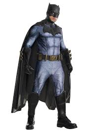 Mens Grand Heritage Dawn Of Justice Batman Costume