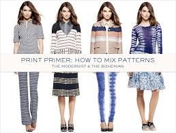 Mixing Patterns Magnificent Mixing Patterns Is A Huge Trend Going On Right Now Tory Burch's