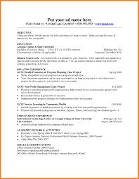 Sample Resume For Teachers 100 teaching resume for freshers gunitrecors 54