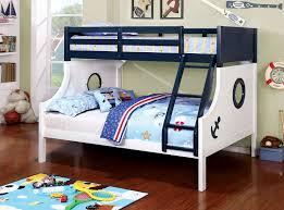 Nautica Bedroom Furniture Buy Furniture Of America Cm Bk629 Nautica Twin Full Bunk Bed