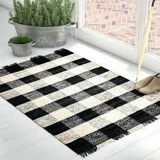 black and ivory rug hand woven black ivory area rug diamond black ivory rug